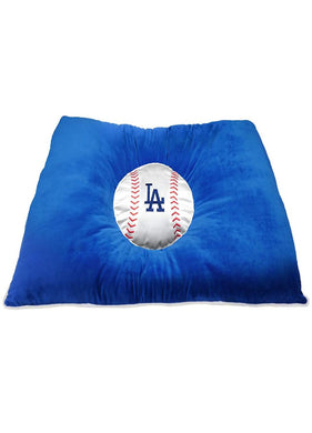 Los Angeles Dodgers Pet Pillow Bed