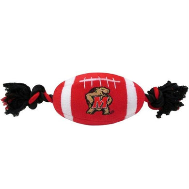 Maryland Terrapins Plush Football Pet Toy