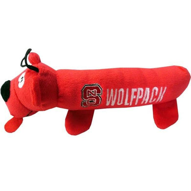 NC State Wolfpack Plush Tube Pet Toy