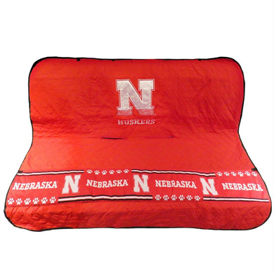 Nebraska Huskers Pet Car Seat Cover