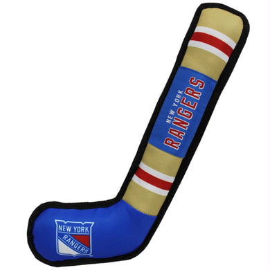 New York Rangers Pet Nylon Hockey Stick
