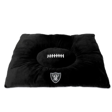 Oakland Raiders Pet Pillow Bed