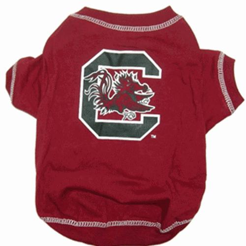 South Carolina Gamecocks Dog Tee Shirt