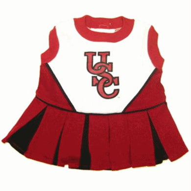 South Carolina Cheerleader Dog Dress