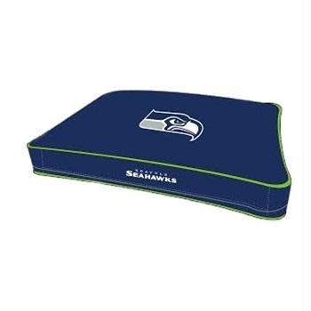 Seattle Seahawks Pet Rectangle Bed