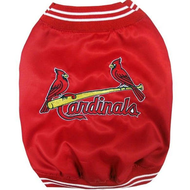 St. Louis Cardinals Pet Dugout Jacket