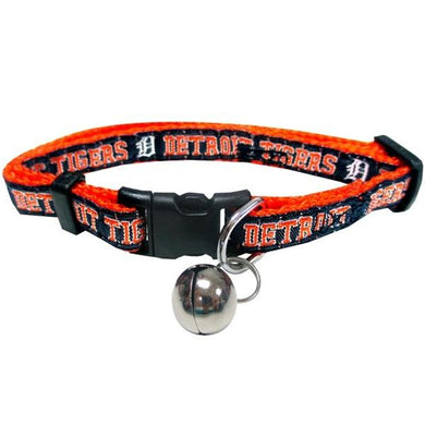 Detroit Tigers Breakaway Cat Collar