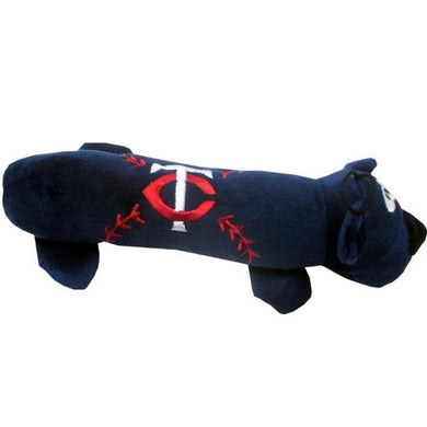Minnesota Twins Plush Tube Pet Toy