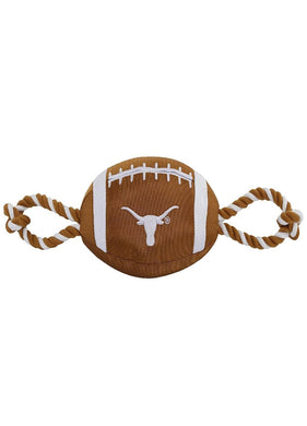 Texas Longhorns Pet Nylon Football