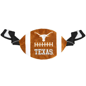 Texas Longhorns Flattie Crinkle Football