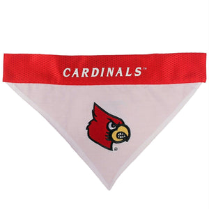 Louisville Cardinals Pet Reversible Bandana