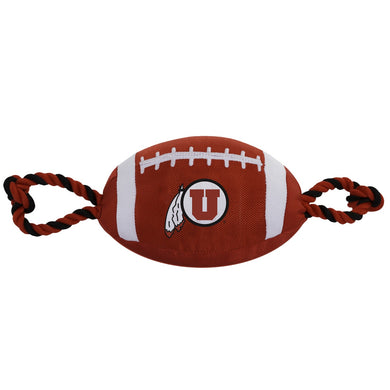 Utah Utes Pet Nylon Football