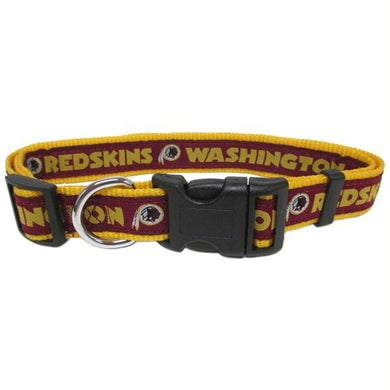 Washington Redskins Pet Collar by Pets First - XL