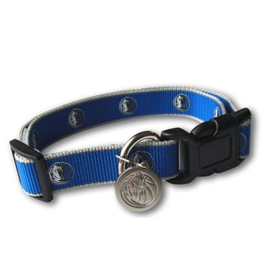 Dallas Mavericks Reflective Pet Collar