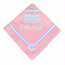 Chicago Cubs Pink Dog Bandana