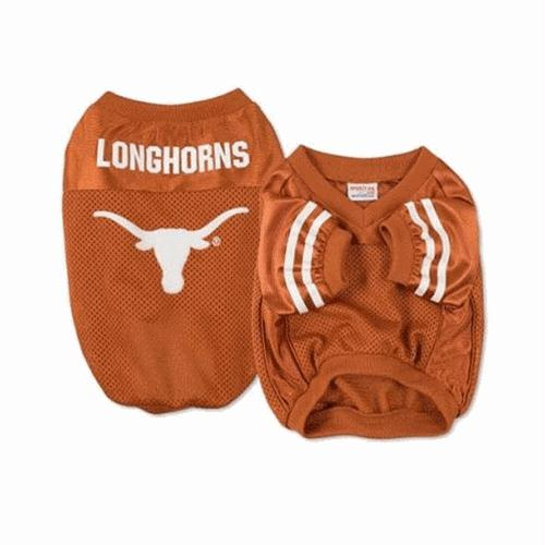 Texas Longhorns Dog Jersey - alternate style