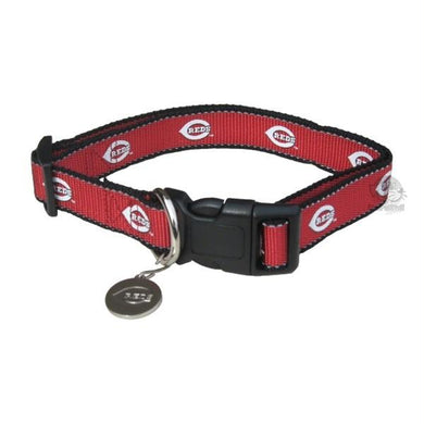 Cincinnati Reds Reflective Pet Collar