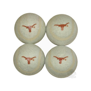 Texas Longhorns Tennis Ball 4-Pak