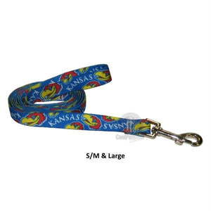 Kansas Jayhawks Nylon Leash