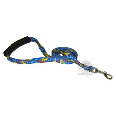 Kansas Jayhawks EZ Grip Nylon Leash