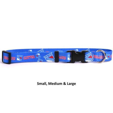 New York Rangers Nylon Collar