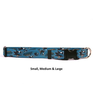 San Jose Sharks Nylon Collar