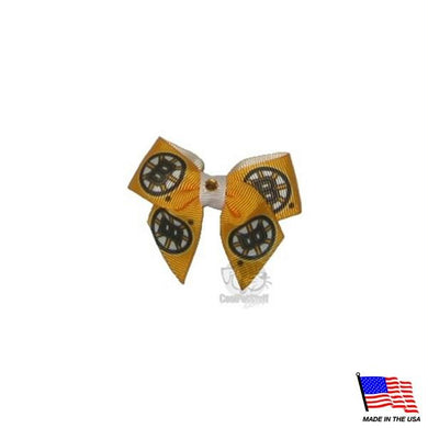 Boston Bruins Pet Hair Bow
