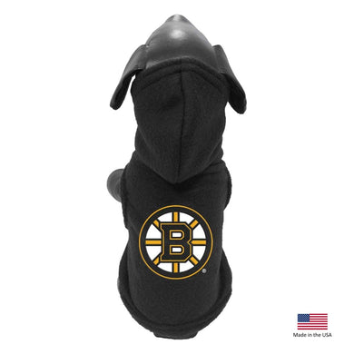 Boston Bruins Polar Fleece Pet Hoodie - Medium