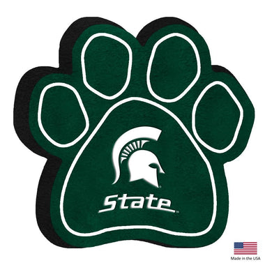 Michigan State Spartans Paw Squeak Toy