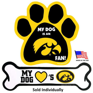 Iowa Hawkeyes Car Magnets