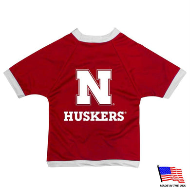 Nebraska Huskers Athletic Mesh Pet Jersey