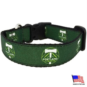 Portland Timbers Pet Collar