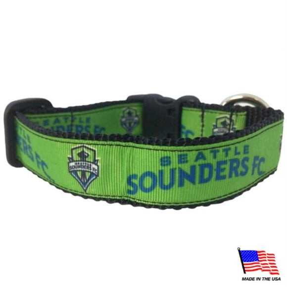 Seattle Sounders Pet Collar