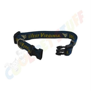 West Virginia Mountaineers Pet Reflective Nylon Collar