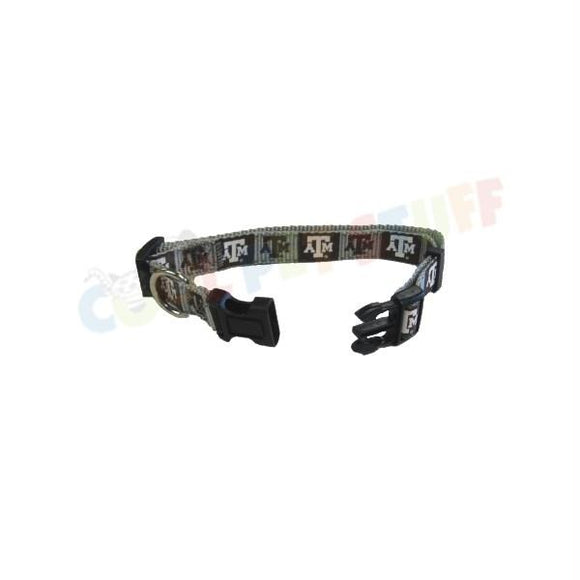 Texas A&M Aggies Pet Reflective Nylon Collar