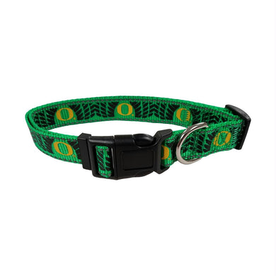 Oregon Ducks Pet Reflective Nylon Collar