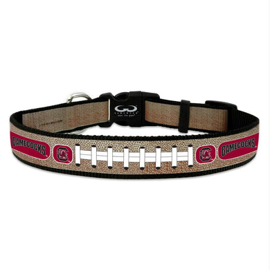 South Carolina Gamecocks Reflective Football Pet Collar