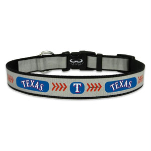 Texas Rangers Reflective Pet Collar
