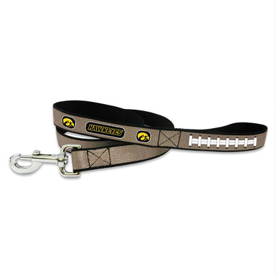 Iowa Hawkeyes Reflective Football Pet Leash