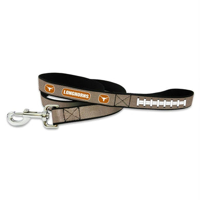 Texas Longhorns Reflective Football Pet Leash