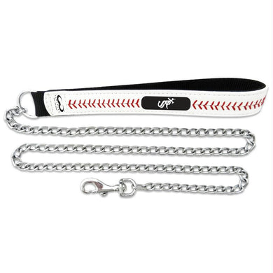 Chicago White Sox Leather Baseball Seam Leash