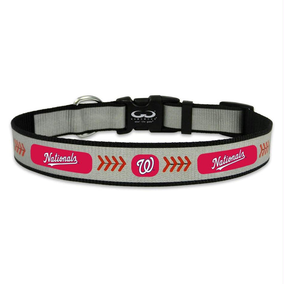 Washington Nationals Pet Reflective Collar