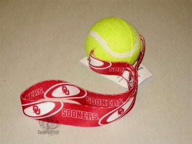 Oklahoma Sooners Tennis Ball Toss Toy