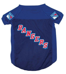 New York Rangers Dog Jersey #2