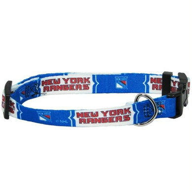 New York Rangers Pet Collar