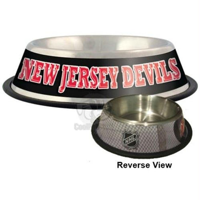 New Jersey Devils Pet Bowl