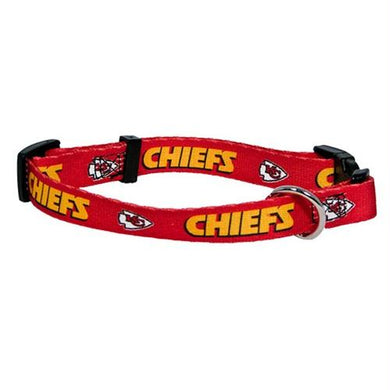 Kansas City Chiefs Pet Collar