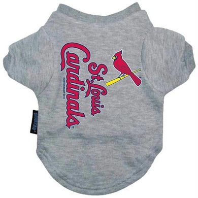 St. Louis Cardinals Dog Tee Shirt