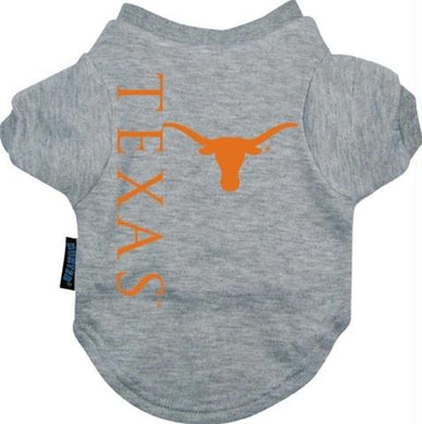 Texas Longhorns Dog Tee Shirt