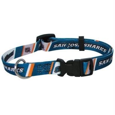 San Jose Sharks Pet Collar